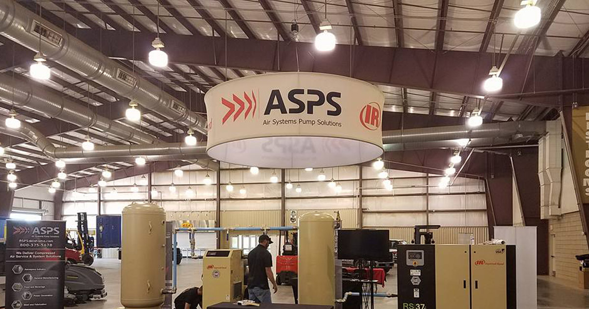 ASPS Industrial Air Compressor Rental